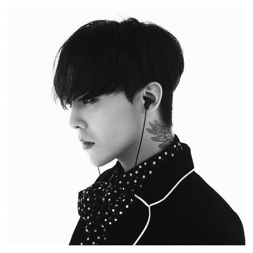 Handsome Ji YongDragonsG Dragon Black HairG
