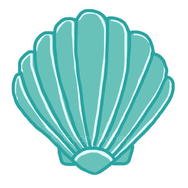 seashell clip art sea shells clip art seashells 2 image 3 ref rh pinterest co uk clam clipart free calm clip art free