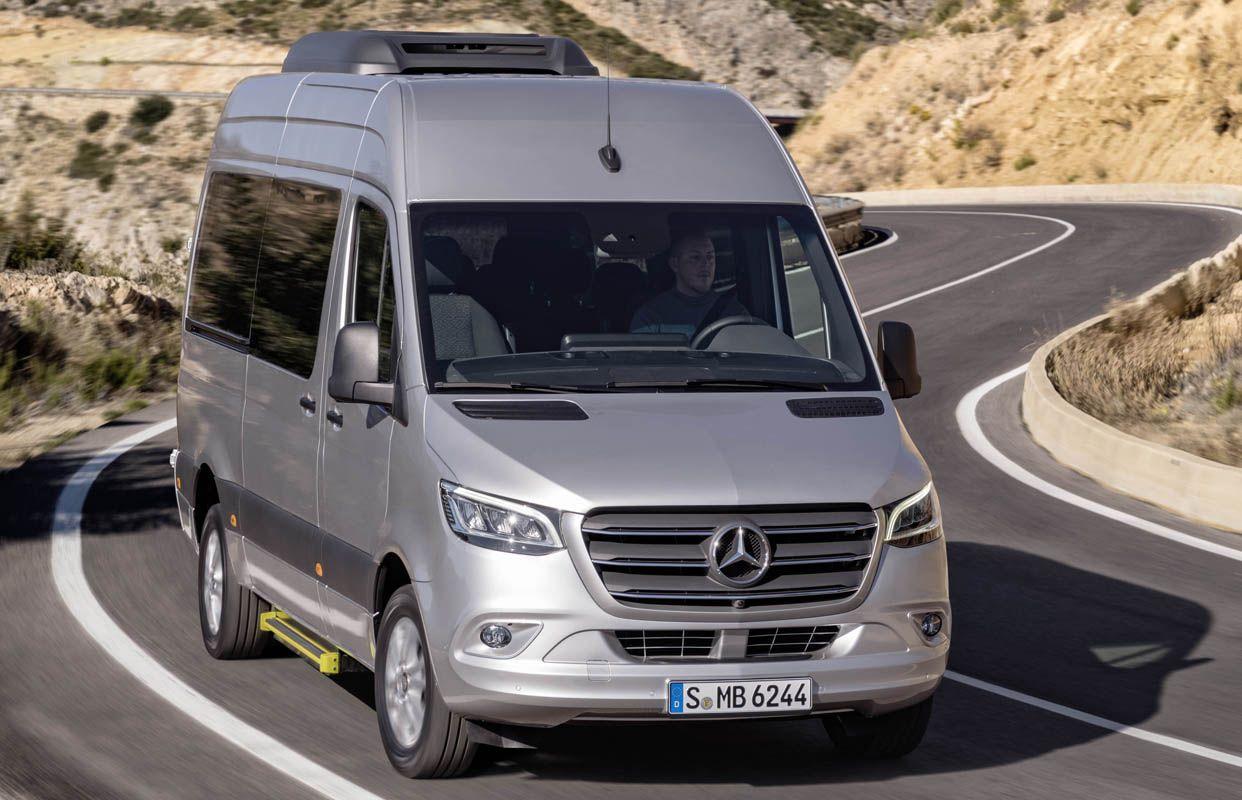 مرسيدس بنز سبرينتر 2019 الجديدة كليا أجمل سيارات الميني فان وأكثرها تطو را موقع ويلز Mercedes Benz Benz Benz Sprinter