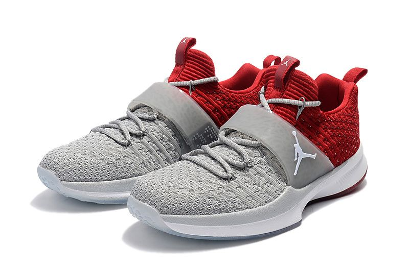 0257b264051f3d Air Jordan Trainer 2 Flyknit Cool Grey Sport Red Wolf Grey