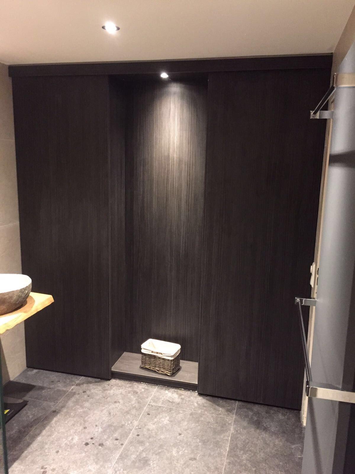 Inbouw kasten in de badkamer door Van Manen Badkamers te Barneveld ...