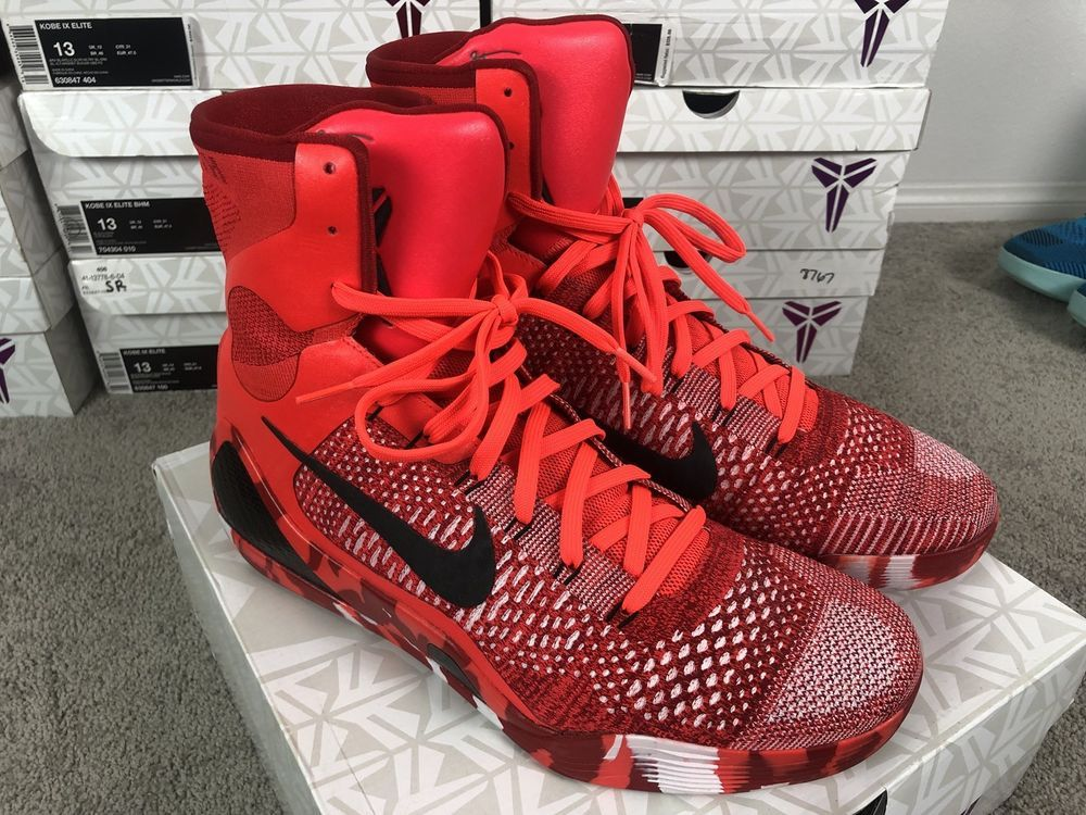 big sale e3b69 c8e63 eBay  Sponsored Nike Kobe 9 IX Elite Size 13 Christmas 630847-600 High