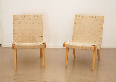 classic design: Jens Risom Lounge Chair: before & after