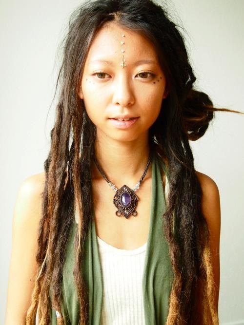Yuki Koshimoto  asian dreadlocks  Dreadlock hairstyles Braids Beautiful dreadlocks