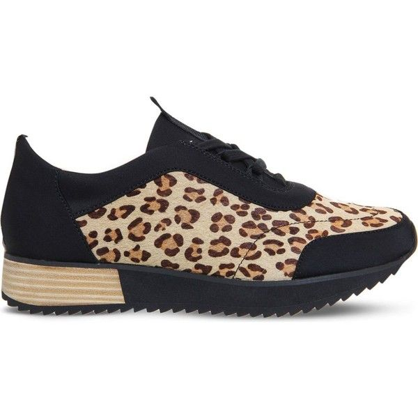 office leopard print. office animal leopard print pony ghillie tie trainers 63 liked on polyvore featuring u
