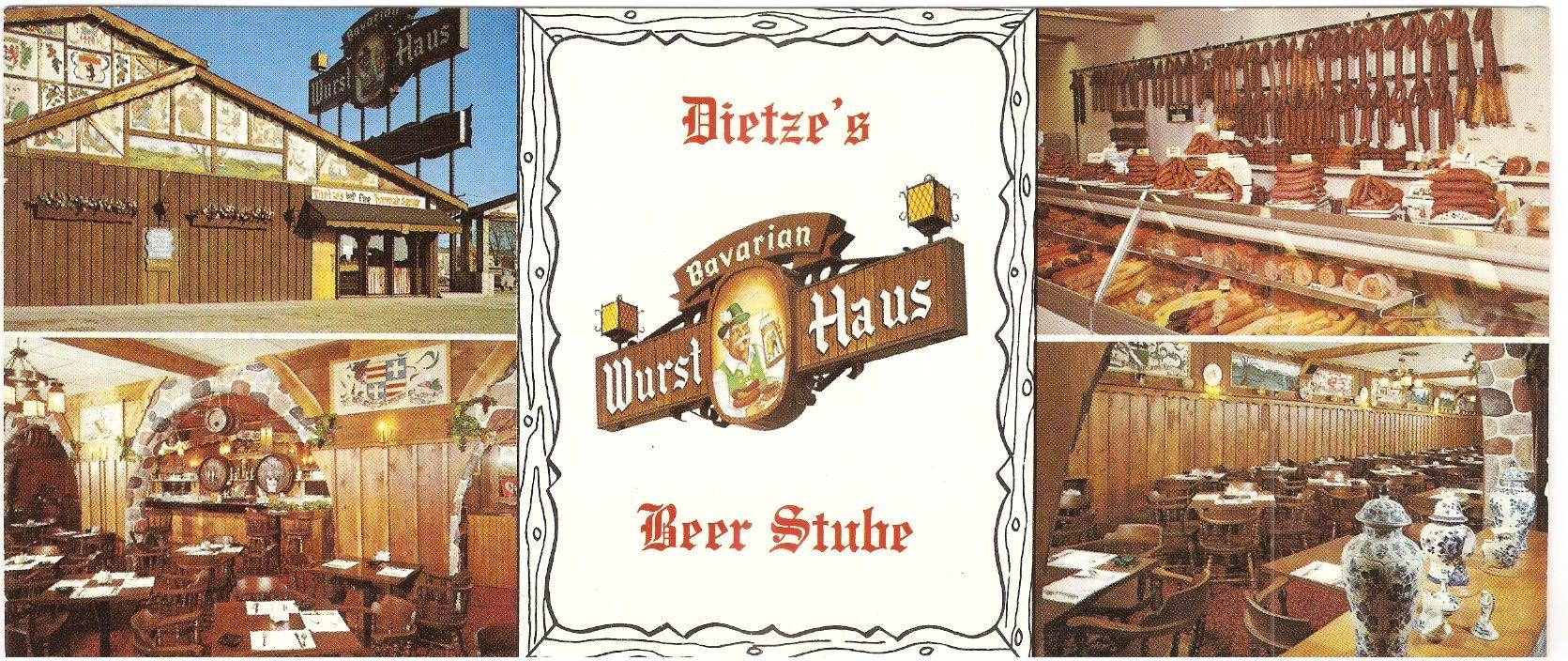 Dietze's Bavarian Wurst Haus & Restaurant  8310 W  Appleton