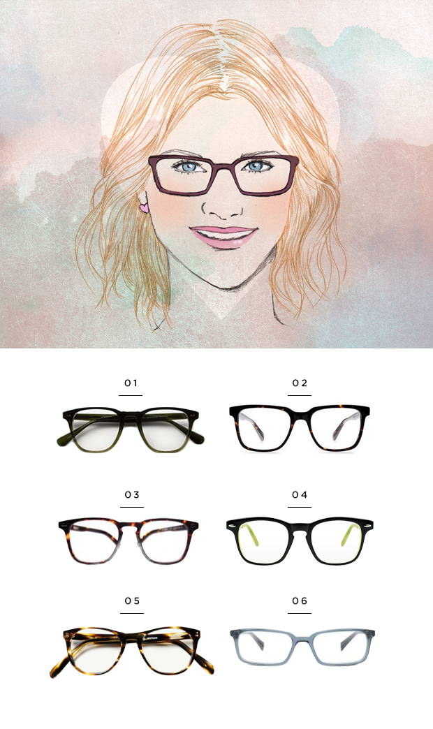 752817f23d The Most Flattering Glasses for Your Face Shape - A great article for the  fashion forward Optometrist