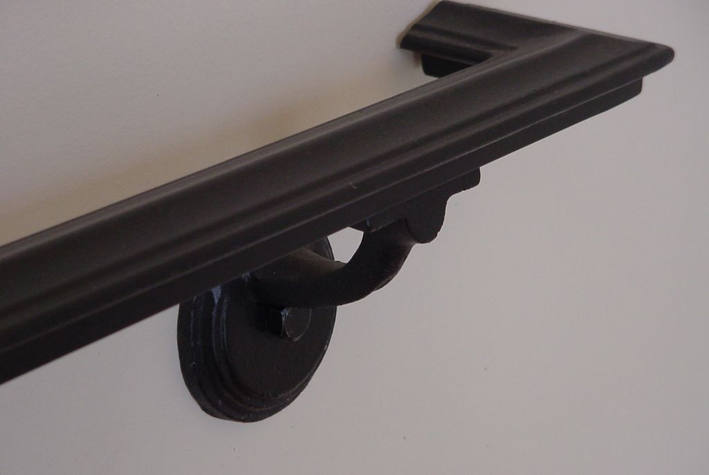 Wall Mounted Hand Railing - | Stairs | Wall mounted ...