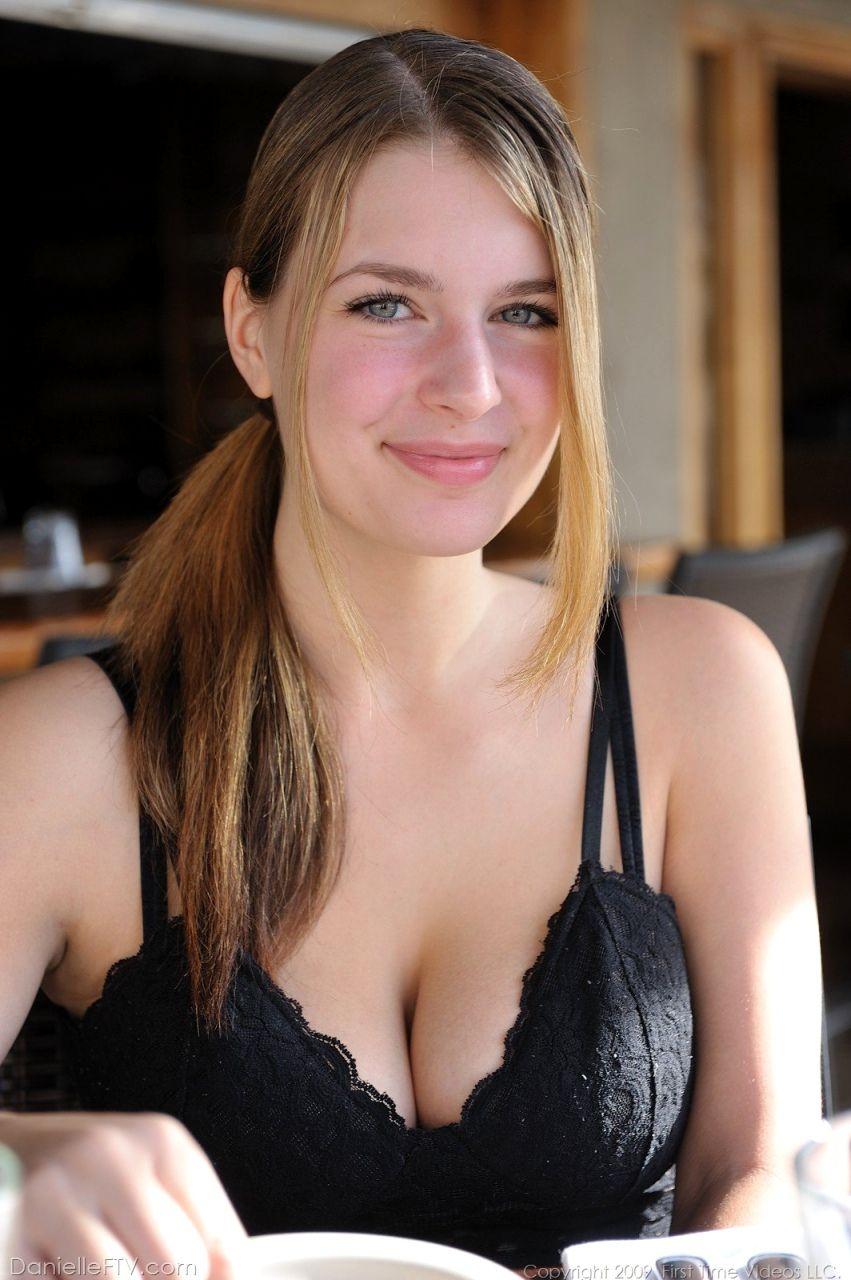 Pictures of Danielle FTV enjoying some lesbian nipple licking