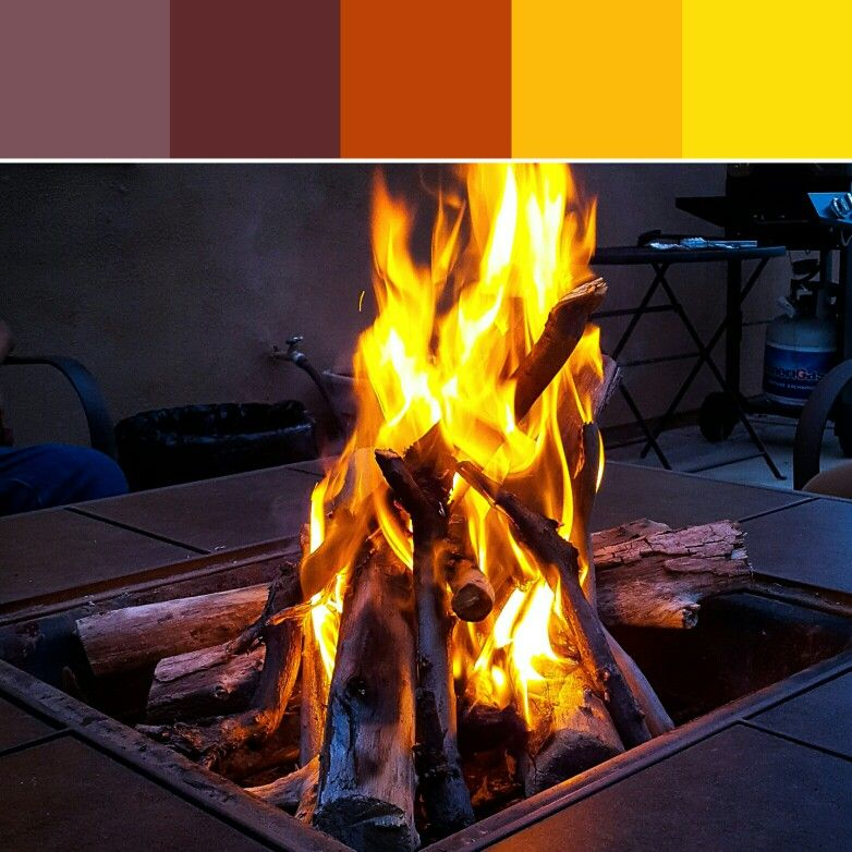 Fire Pit Palette Color Pallets Color Schemes Color Palette