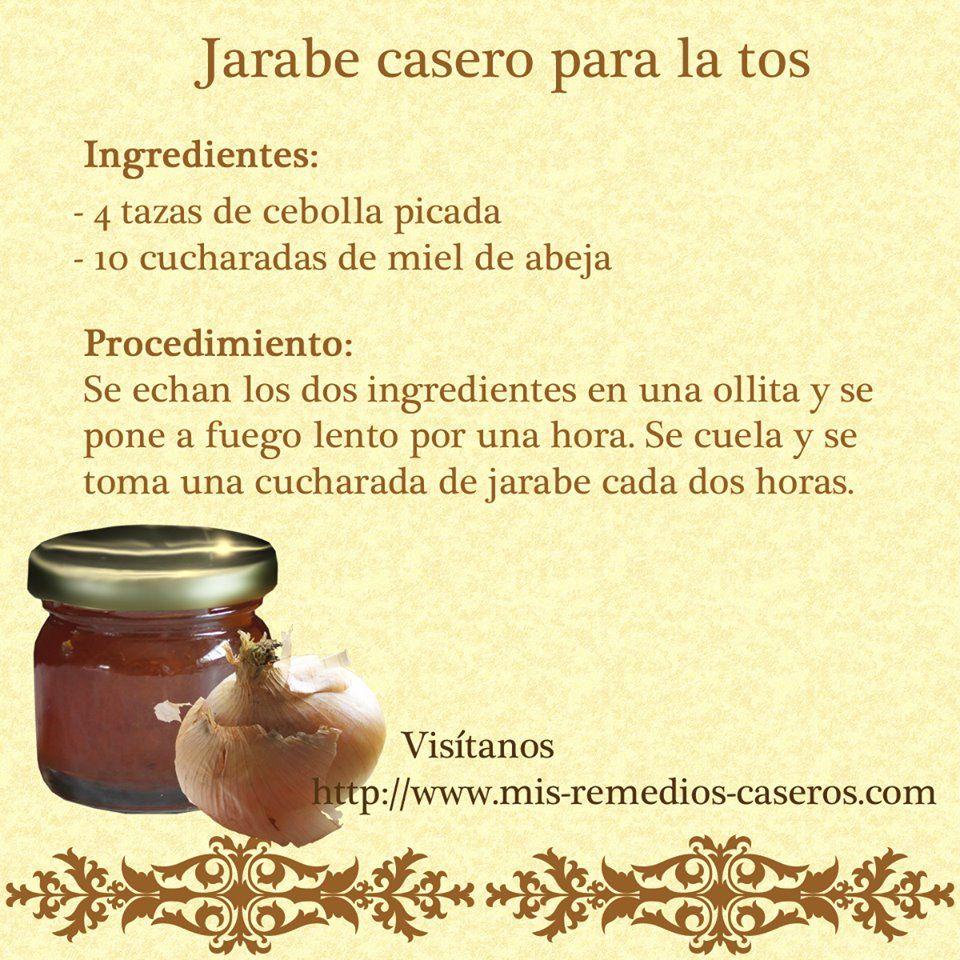 Jarabe Natural Para Tos Jarabe Casero Jarabe Para La Tos Remedios Naturales Para La Tos