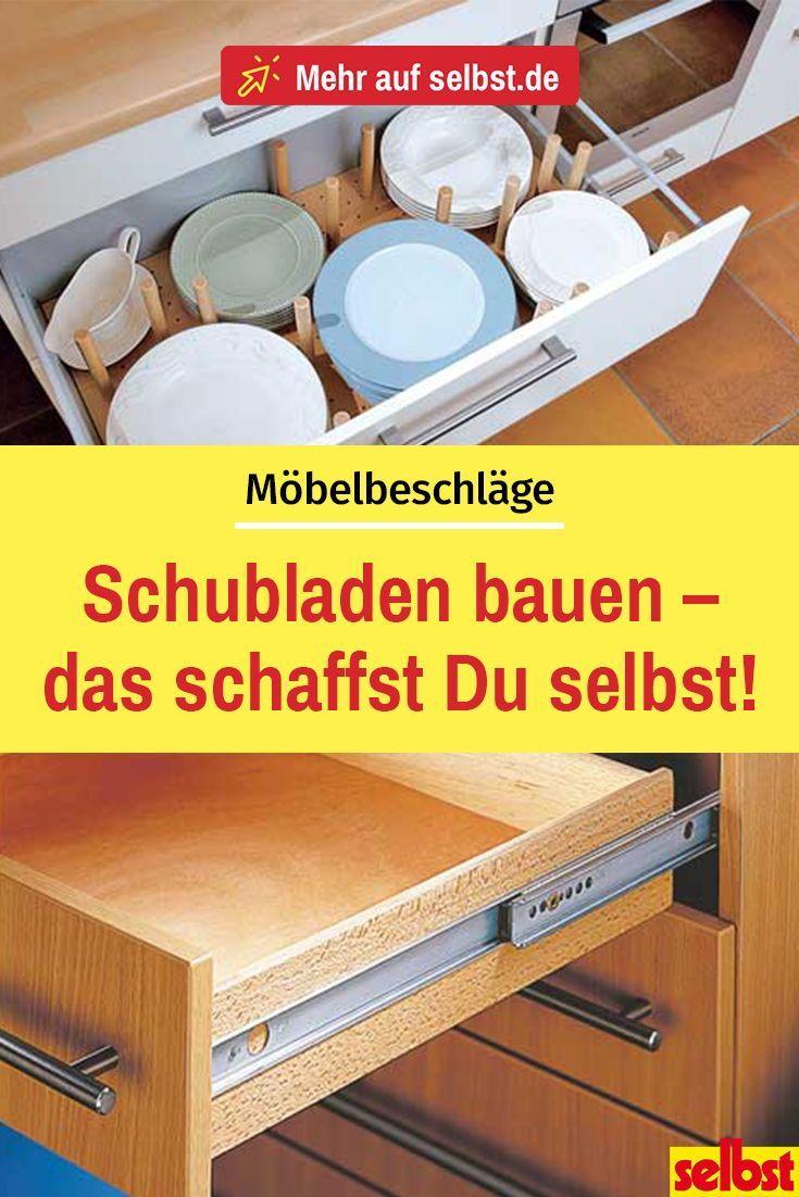 Schubladen selber bauen| selbst.de