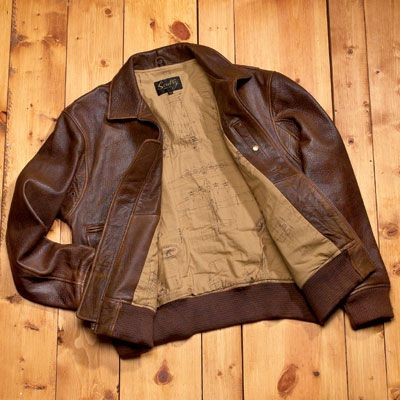 Leather B-2 Bomber Jacket - from Sporty's Pilot Shop | leather ...