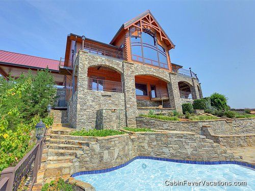 Journey 39 s end outstanding smoky mountain views five for Smoky mountain cabin rental with private pool