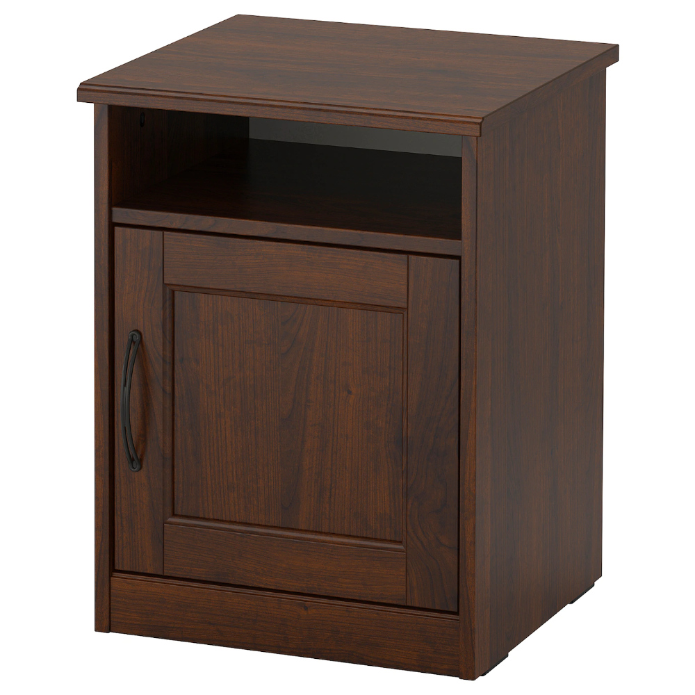 "SONGESAND Nightstand brown 16 1/2x15 3/4 "" in 2020 (With"
