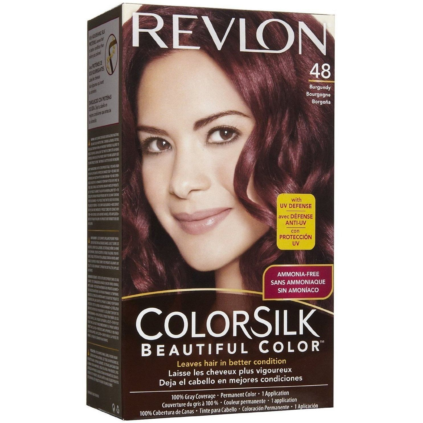 Revlon Colorsilk Beautiful Color Ammonia-free Permanent Haircolor ...