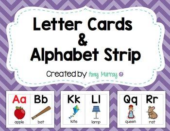 Alphabet Cards Letter Line
