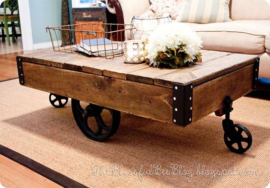 Cart Coffee Table Restoration Hardware.Factory Cart Coffee Table Workshop Cart Coffee Table Diy Coffee