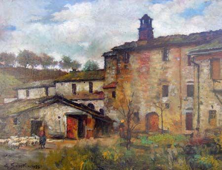 Antonio salvetti case rustiche del mugello italian for Case rustiche