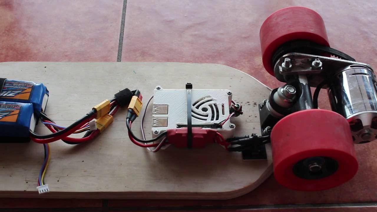 Raspberry Pi Bluetooth Electric Skateboard IFB102