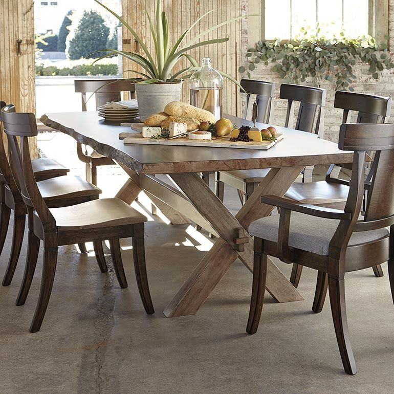 Bench Made Crossbuck Table By Bassett In 2019 Southwest Design