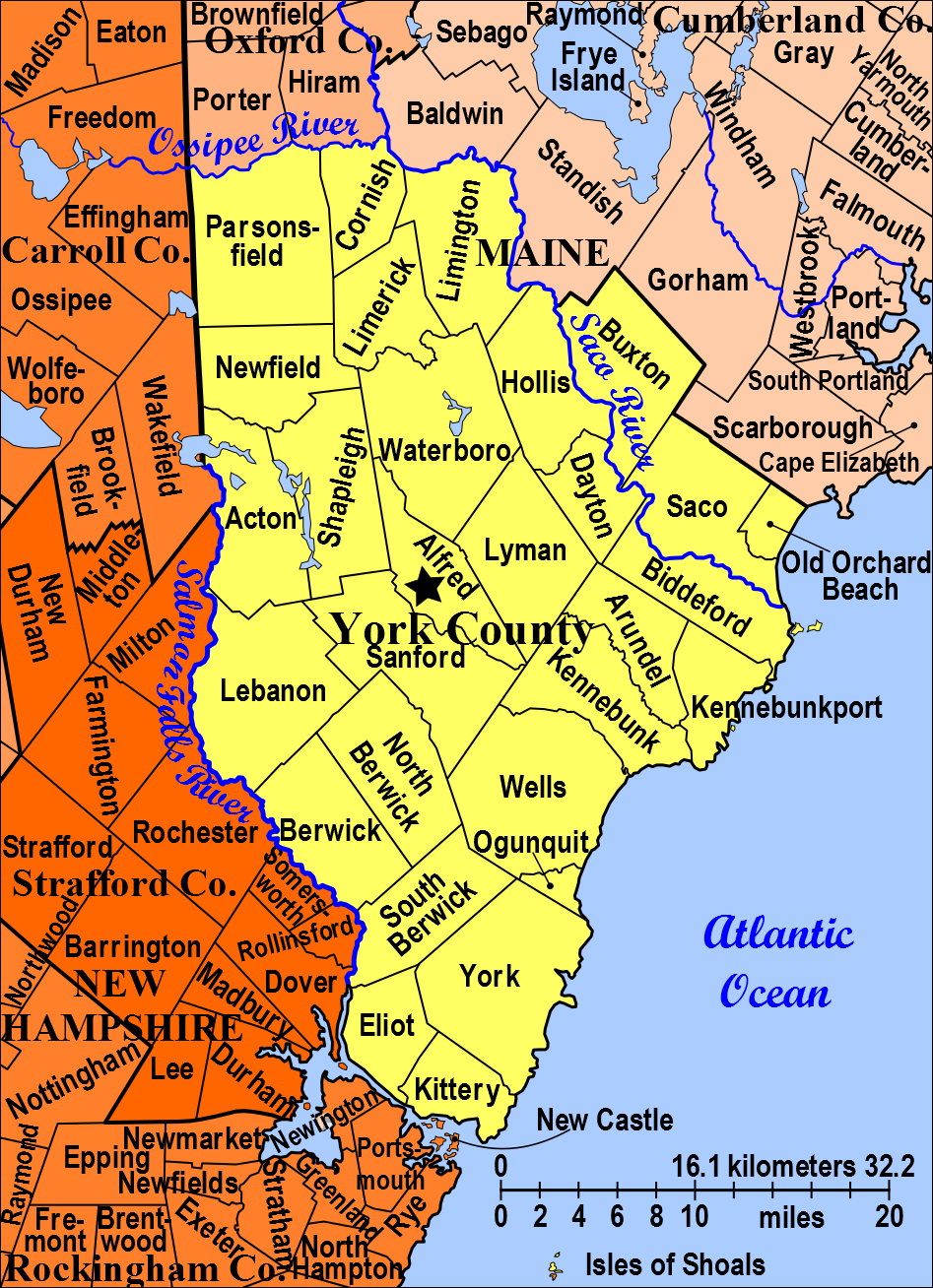 Town of York Maine   Modern town borders in York County ... City Of York County Maine Map on blank map of maine, york maine area map, driving map of maine, portland map of maine, brunswick map of maine, york county maine map 1872, york me map, york county city map, full map of maine, camden map of maine, map of counties of maine, us state map of maine,