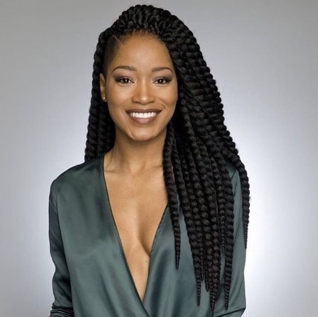 Pin by nicc on hairstyles for box braids pinterest natural