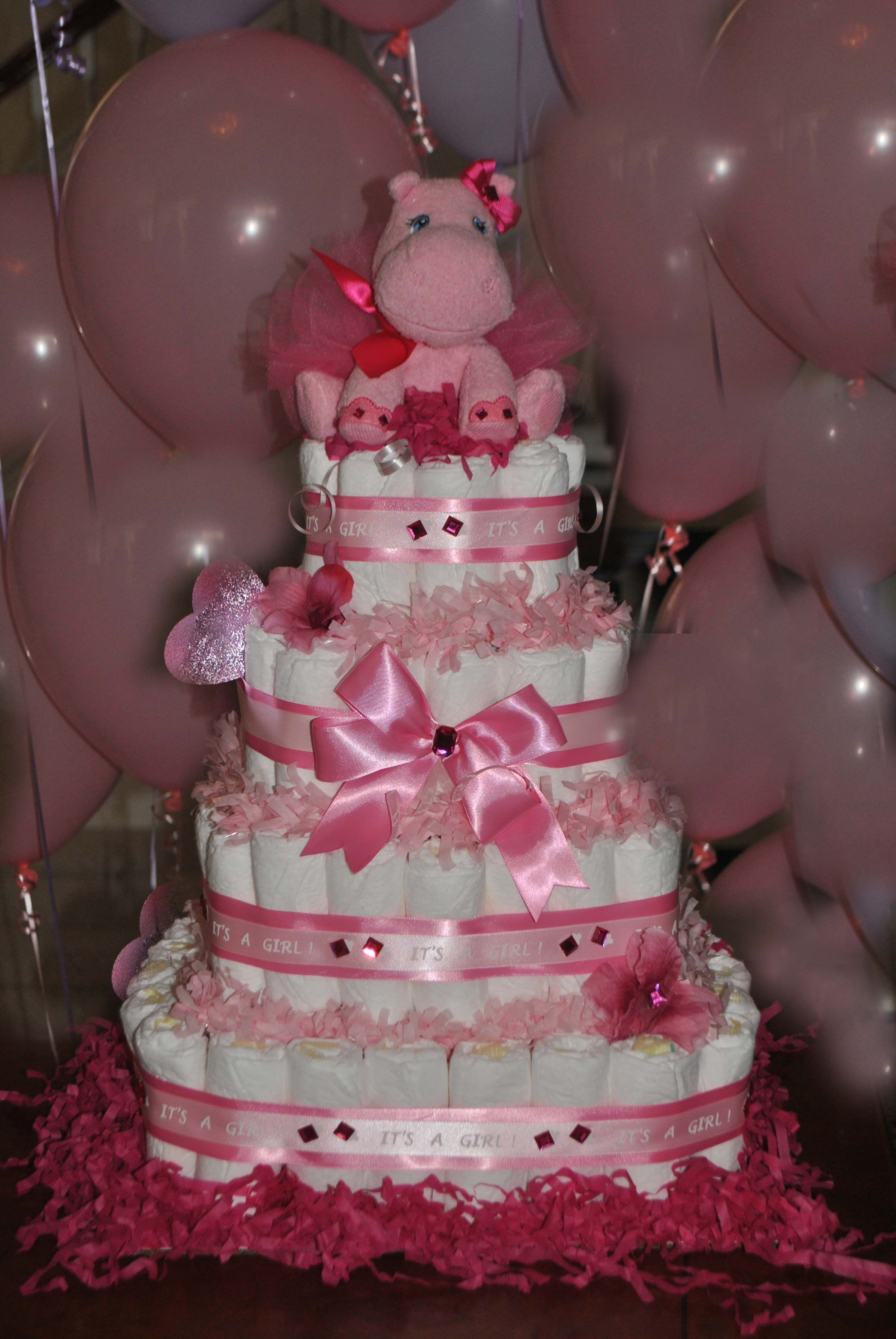 This Is A Very Practical Gift Its A Diaper Cake