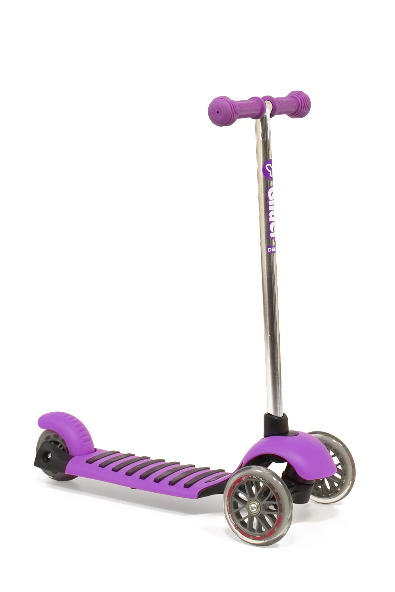 Y Glider 3 Wheel Scooter Kids Scooter Y Glider Deluxe Purple