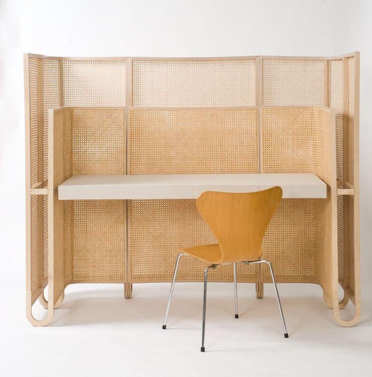 Bureau Design Canne Mobilier De Salon Cannage Mobilier Design