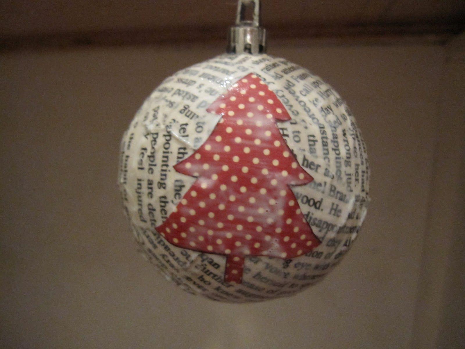 Modge Podge Christmas Ornament | Gotcha Covered | Pinterest ...