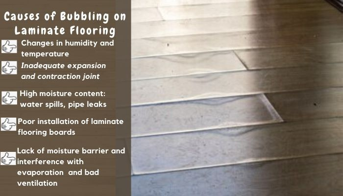 Why Is My Laminate Floor Bubbling In 2020 Laminate Flooring Laminate Flooring