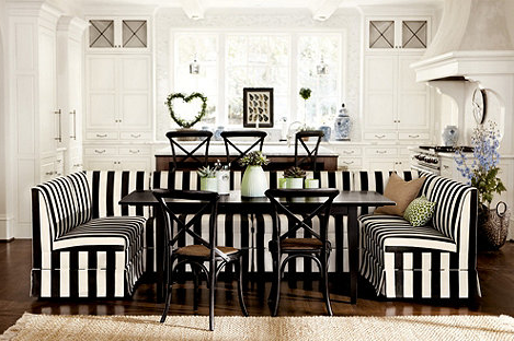 Ballard Designs Coventry Banquette Seating Dining Room Interiors