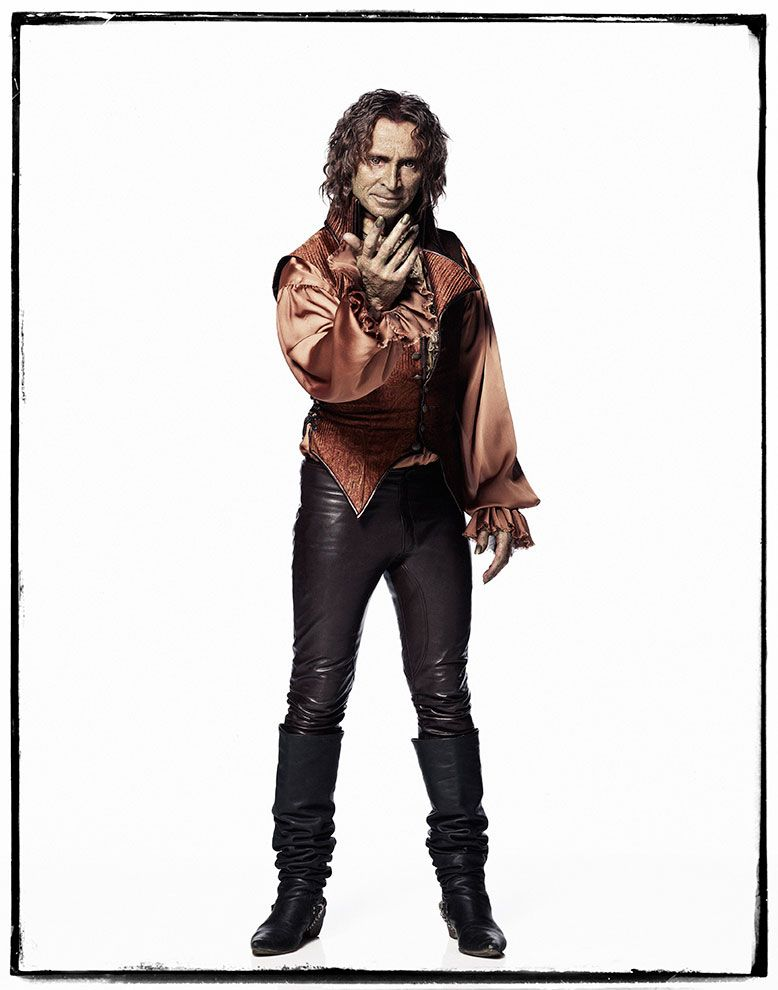 "Exclusive vintage limited edition print Of Rumpelstiltskin from ABC's hit series ""Once Upon A Time"""
