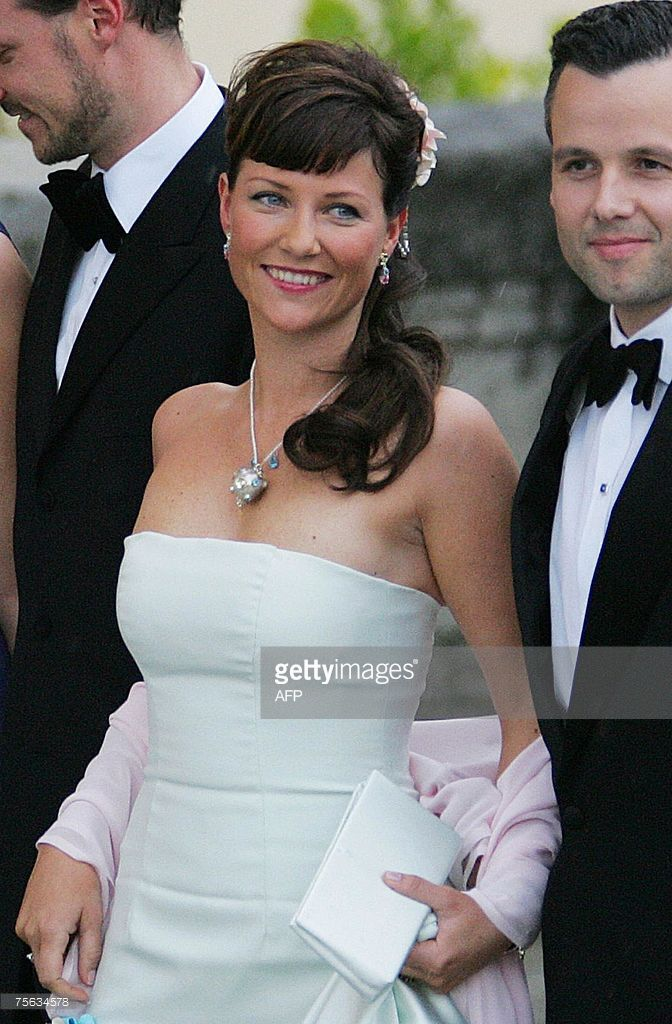 File picture of Norwegian Princess Martha-Louise and her husband Ari Behn (R)posing for photographers as they arrive to attend an official diner at the Pardo Palace in Madrid taken, 21 May 2004 on the eve of Spanish Crown Prince Felipe of Bourbon's wedding to former journalist Letizia Ortiz. Princess Maertha Louise claims she is clairvoyant and intends to share her gifts in a newly created school for students who wish to 'get in contact with (their) angels,' she said on the school website…