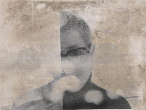 Sigmar Polke. Untitled (Mariette Althaus). c. 1973