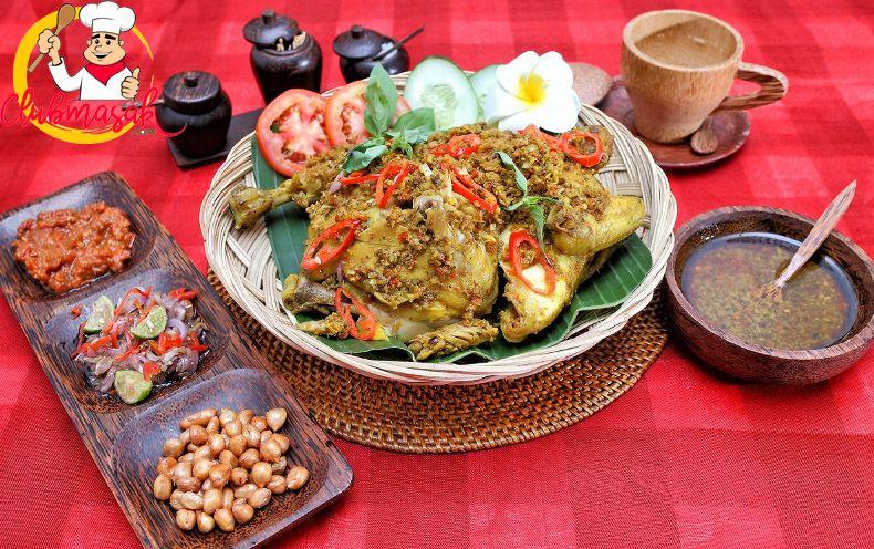 Resep Ayam Betutu Khas Gilimanuk Pedas Dan Gurih Resep Ayam Betutu Resep Ayam Masakan Indonesia Masakan