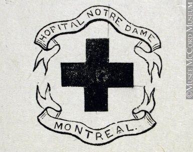 Insigne de l'Hôpital Notre-Dame à Montréal