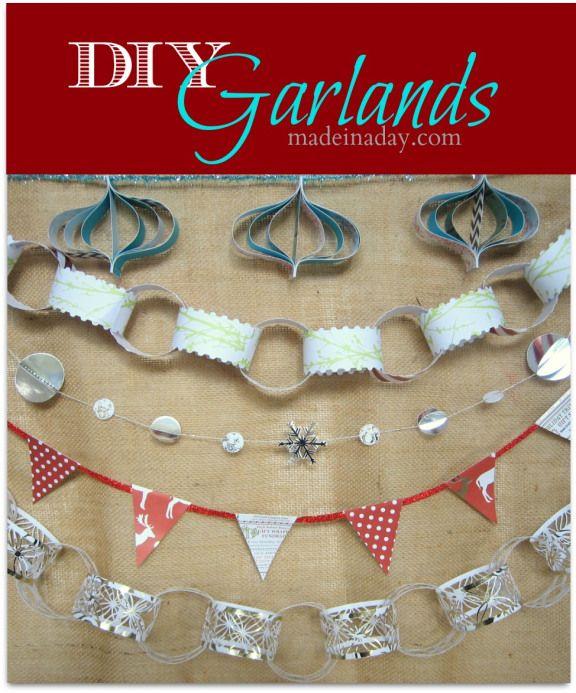 A plethora of garland ideas!