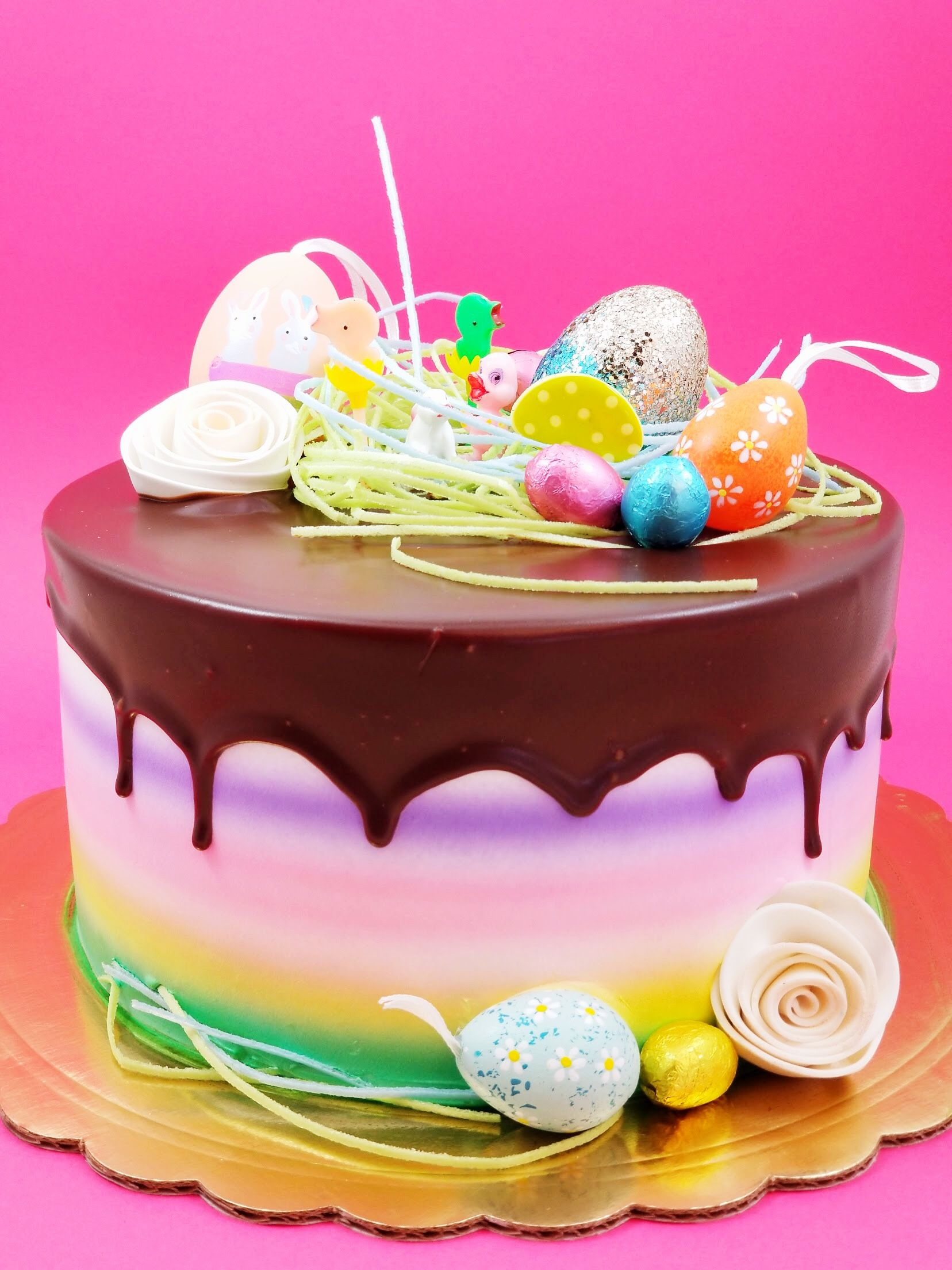 Adorable Easter Cakes Available For Delivery Within Los Angeles At ArtsBakeryGlendale