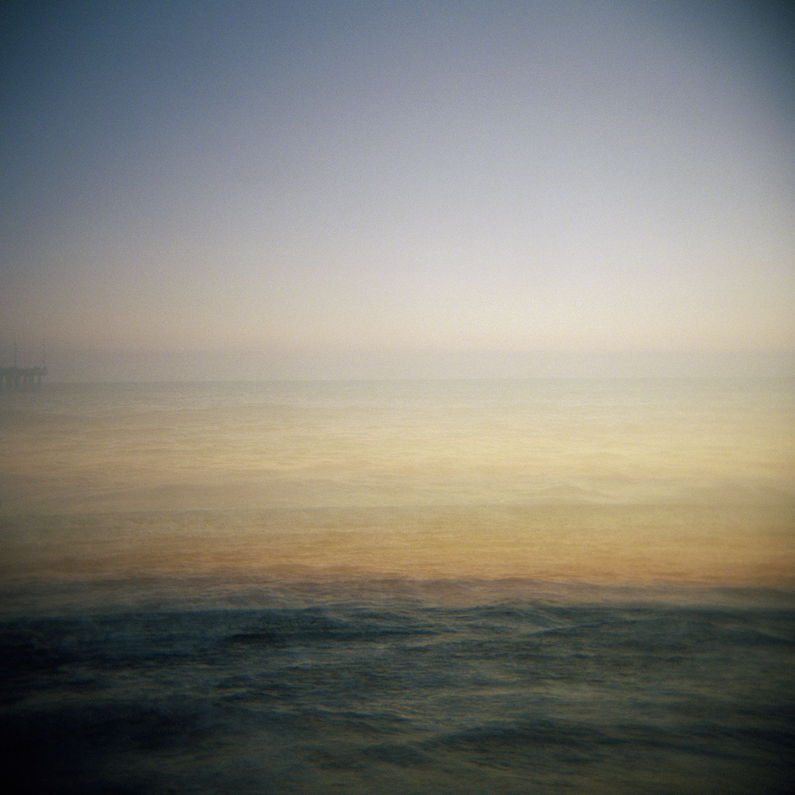 Sunset double exposure of the Pacific in Venice, CA.  #venice #sunset #holga #doubleexposure #film #ashleygarmon #ashleygarmonholga #chasingthesuns