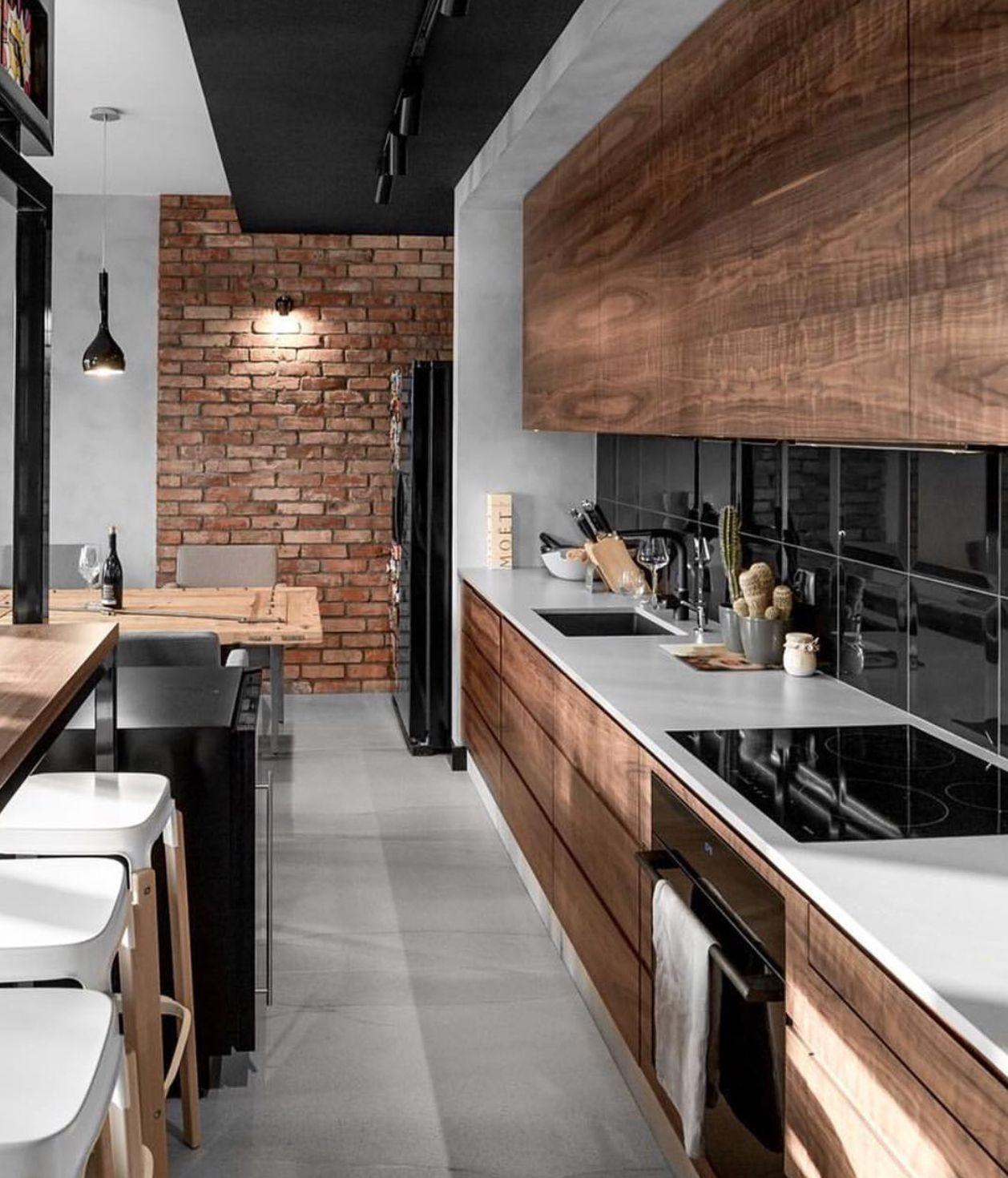 Pin By Alvaro Secco On Cocinas Pinterest Kitchens Interiors  # Muebles Haus Monterrey