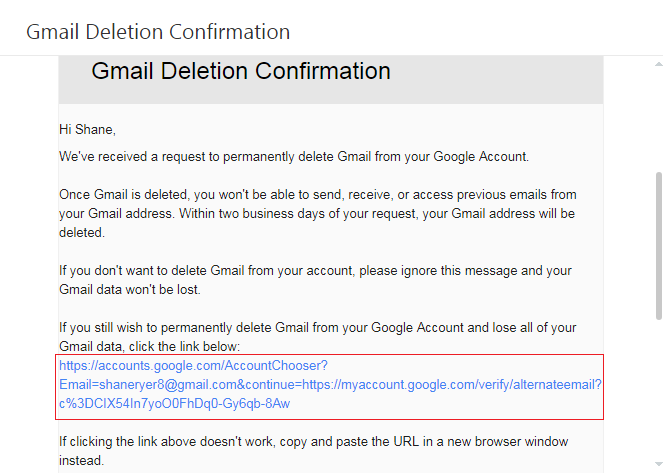 How To Delete A Google Or Gmail Account Just4dummies Google Gmail Deleteaccount Gmail Accounting Google Account