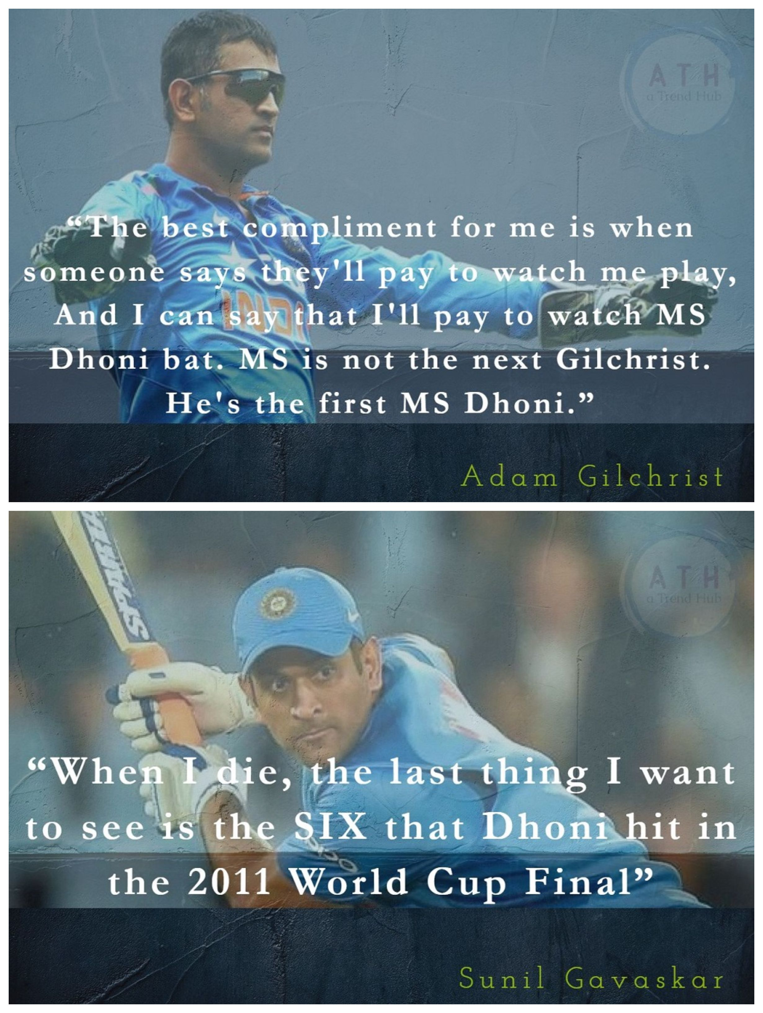 13 Awesome Quotes On Ms Dhoni Which Perfectly Describes How Legendary Ms Is Player Quotes Dhoni Quotes Best Quotes