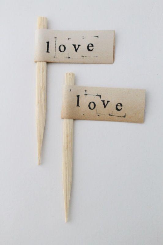 Boekpapier - Prikker Love