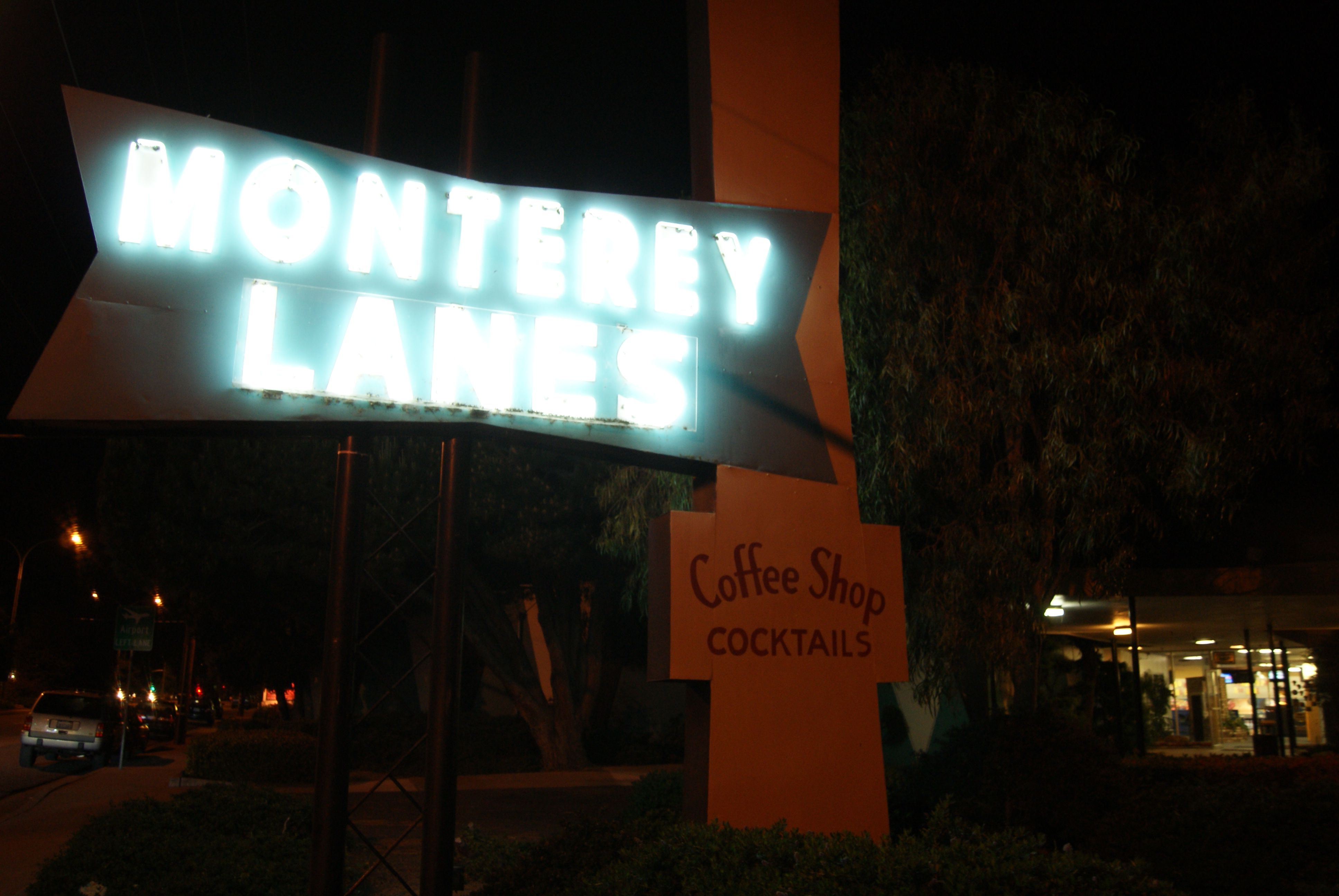 """no lane no gain!"" Monterey CA, May 2011"