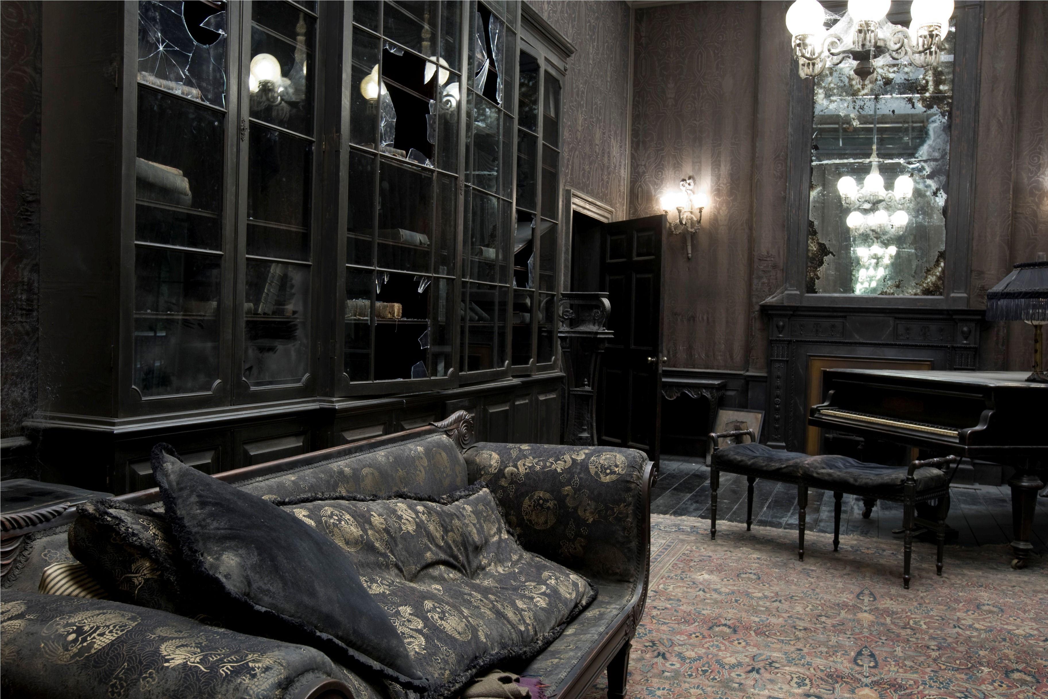 Grimmauld Place Black House Harry Potter Set Gothic House