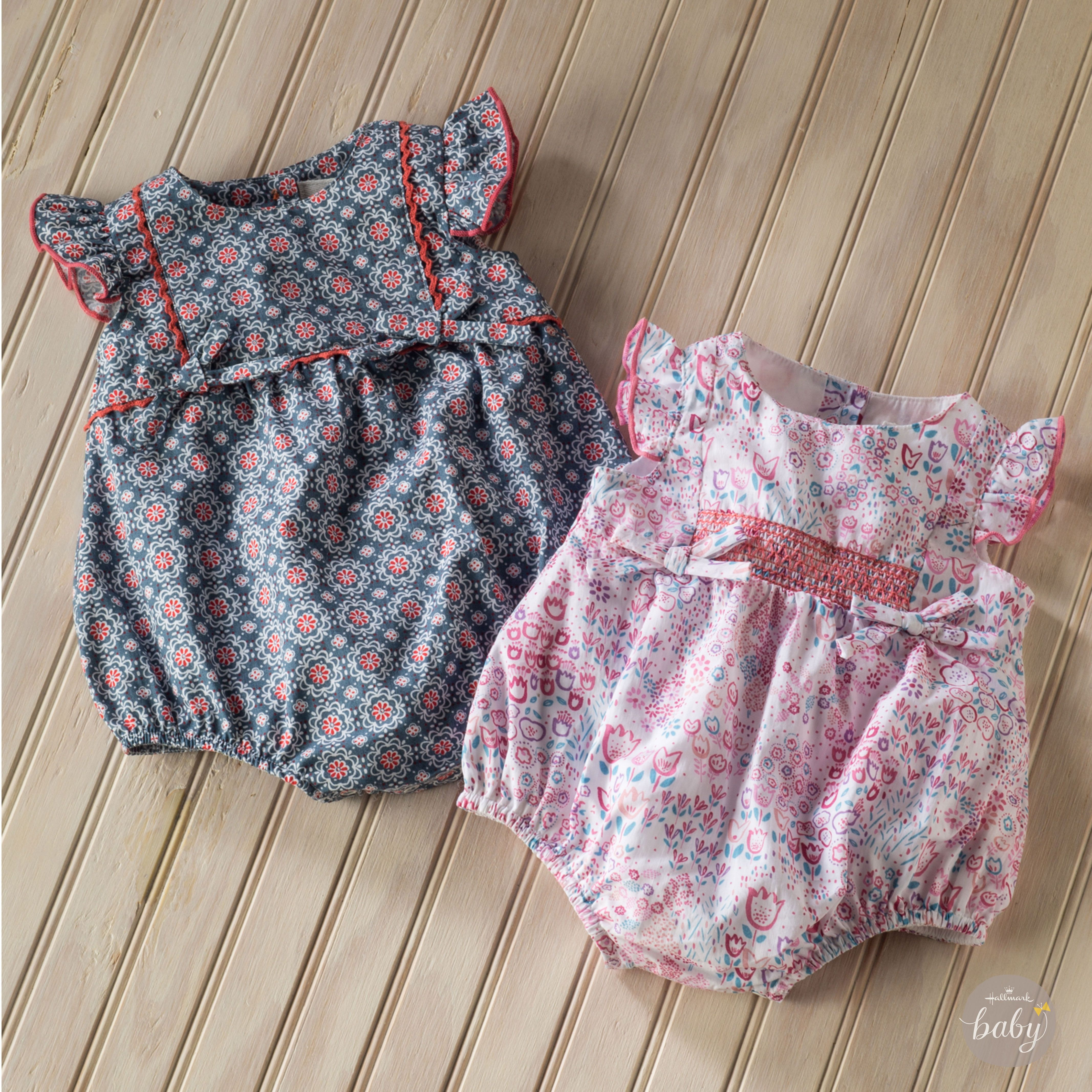 Sweetest summer outfits EVER! <3 @HallmarkBaby.com