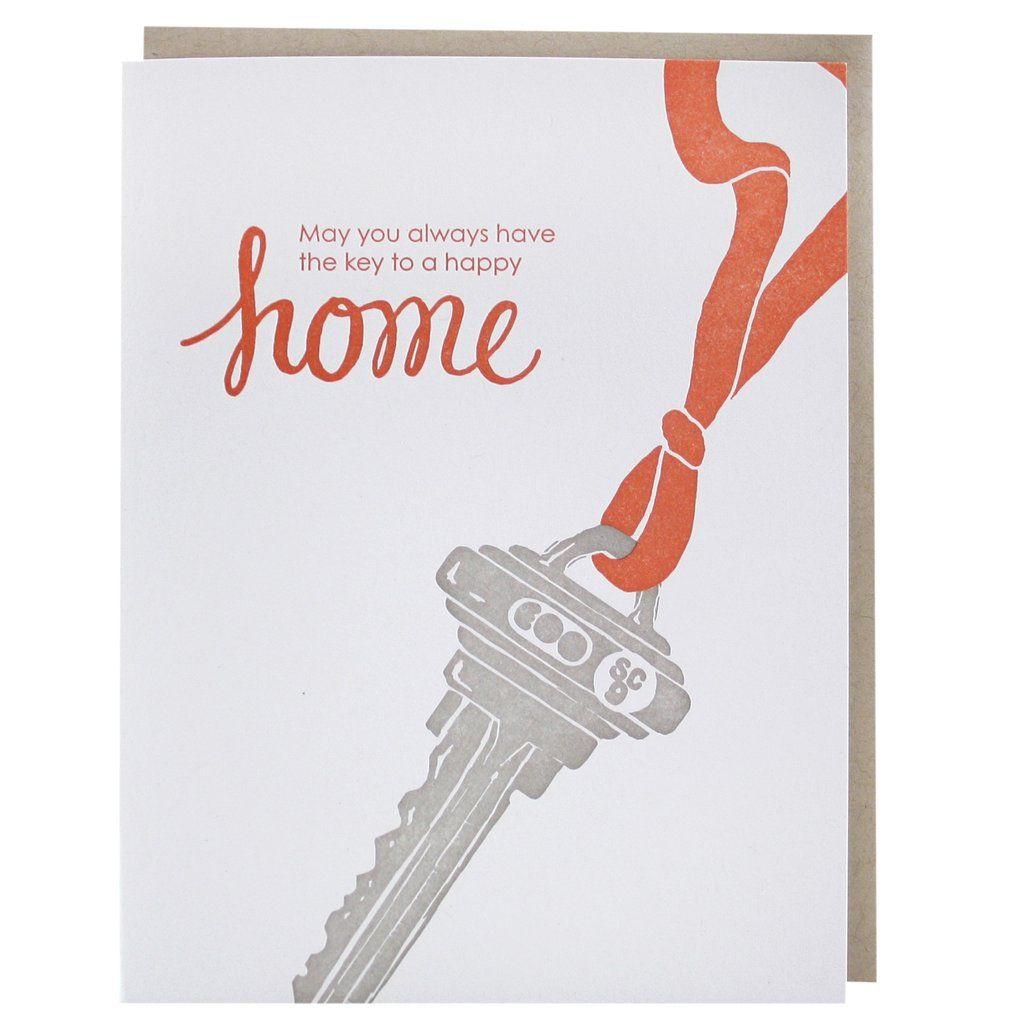 Key To New Home Card In 2018 Real Estate Pinterest