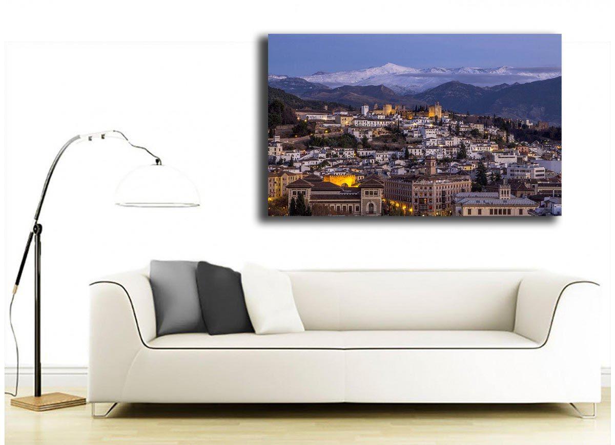 Granada en la noche de los Santos Inocentes de Jose Cervera para Global-Arte.